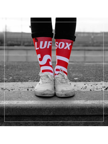 LUF SOX Calcetines Official in rojo
