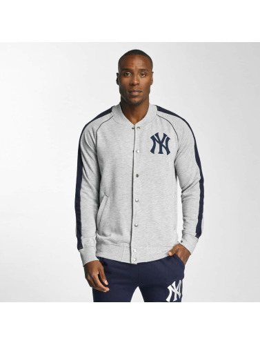 Majestic Athletic Herren College Jacke NY Yankees in grau Limit Rabatt 1eVNOMcm