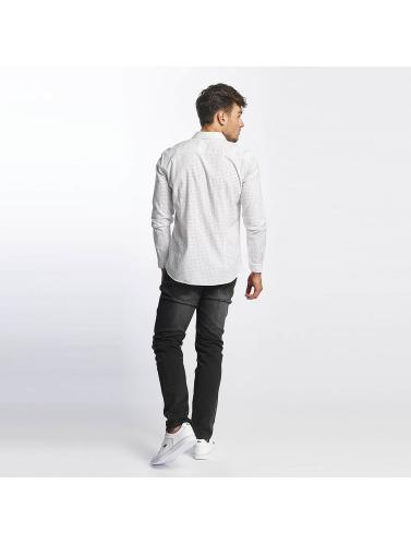 billig med mastercard Mavi Jeans Menn I Hvit Skjorte Trykt salg wikien salg 100% autentisk l7fjaCl