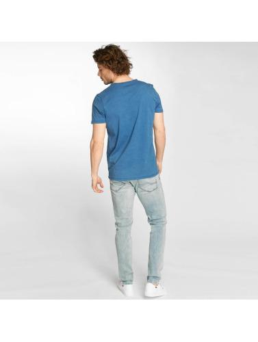 Mavi Jeans Hombres Camiseta Jimmy in índigo