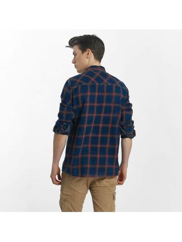 Mavi Jeans Hombres Camiseta Indigo in índigo