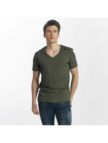Mavi Jeans Hombres Camiseta Woodcore I Olje klaring hot salg billig klaring billig for fint shlU7lh9w