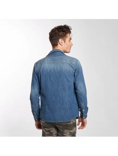 Mavi Jeans Herren Hemd Rio in blau