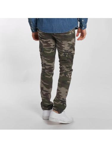 Mavi Jeans Hombres Jeans ajustado Yves Cargo Button Fly in azul