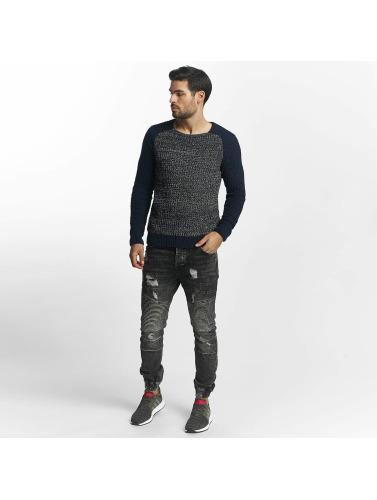 Mavi Jeans Herren Pullover Total Eclipse in blau