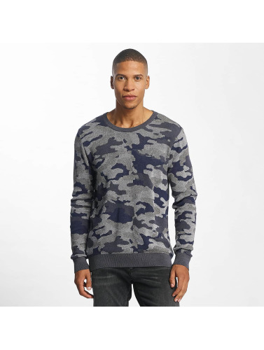 Mavi Jeans Herren Pullover Jacquard in camouflage