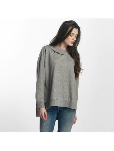 Mavi Jeans Damen Pullover Printed in grau