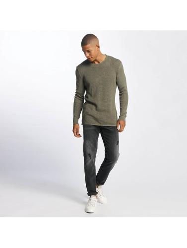 Mavi Jeans Herren Pullover Pacorro in grün