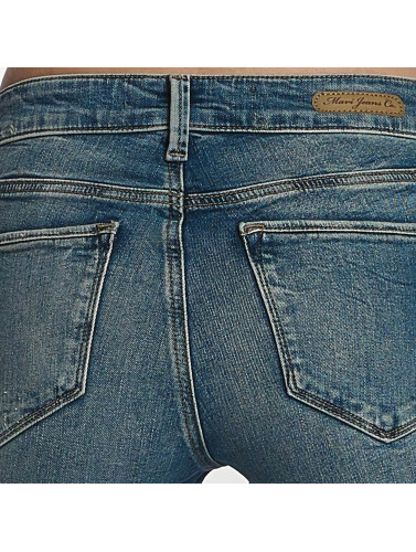 Mavi Jeans Damen Skinny Jeans Adriana Mid Rise Super Skinny in blau