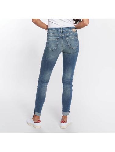 Mavi Jeans Damen Skinny Jeans Adriana Mid Rise in blau