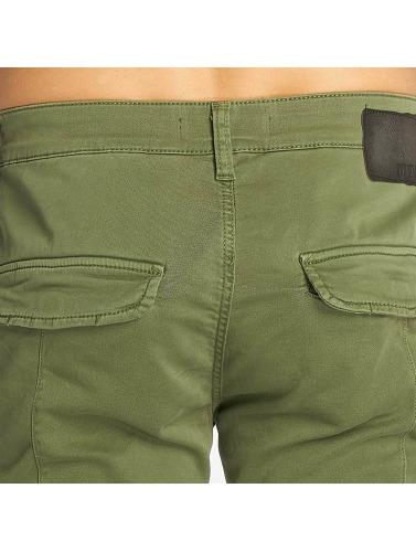 Mavi Jeans Herren Skinny Jeans Yves Cargo Button Fly in grün