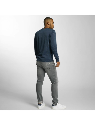 Mavi Jeans Herren Straight Fit Jeans James in grau