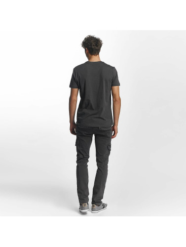 Mavi Jeans Herren T-Shirt Influence Graphic in grau