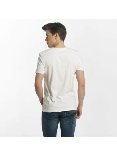 Mavi Jeans Herren T-Shirt Whitecore in weiß