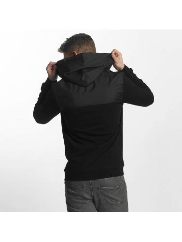 Mavi Jeans Herren Übergangsjacke Zip Up in schwarz