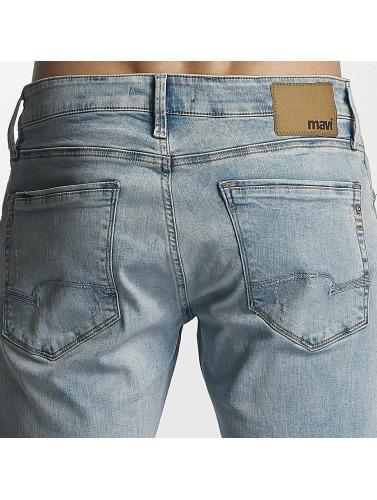 Mavi Jeans Hombres Vaqueros pitillos James in azul