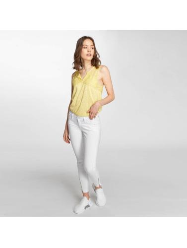 Mavi Jeans Kvinners Skinny Jeans I Hvitt Ro valg billig målgang sARe4a6