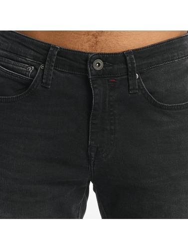 Mavi Jeans Hombres Vaqueros pitillos Dean in gris