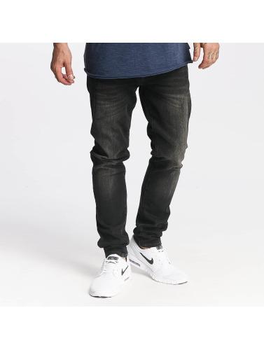 Mavi Jeans Hombres Vaqueros pitillos James in negro