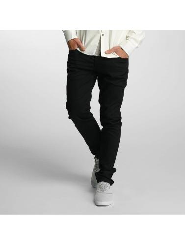 Mavi Jeans Hombres Vaqueros pitillos Yves in negro