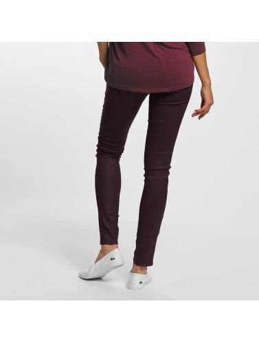 Mavi Jeans Mujeres Vaqueros pitillos Serena in rojo
