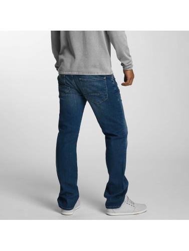 Mavi Jeans Hombres Vaqueros rectos Martin in azul