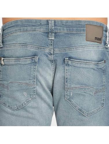 Mavi Jeans Hombres Vaqueros rectos Yves in azul