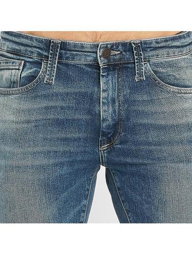 Mavi Jeans Hombres Vaqueros rectos Leo Cropped in azul