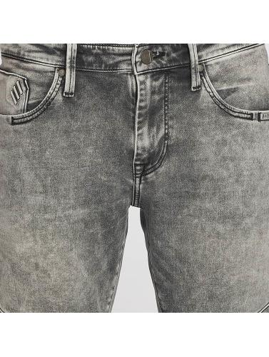 Mavi Jeans Hombres Vaqueros rectos Dean Biker in gris