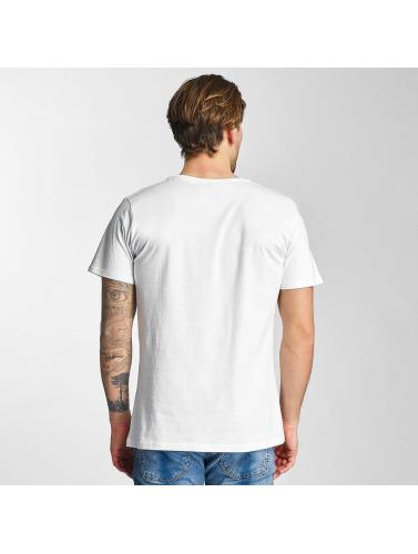 Merchcode Hombres Camiseta Black Sabbath LOTW White in blanco