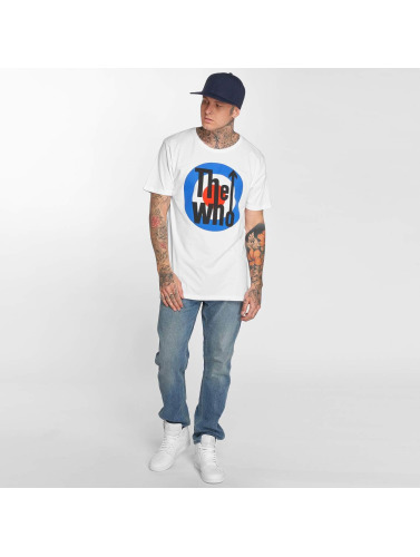 Merchcode Hombres Camiseta The Who Classic Target in blanco