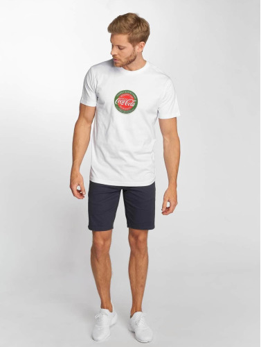 Merchcode Hombres Camiseta Coca Cola Retro in blanco