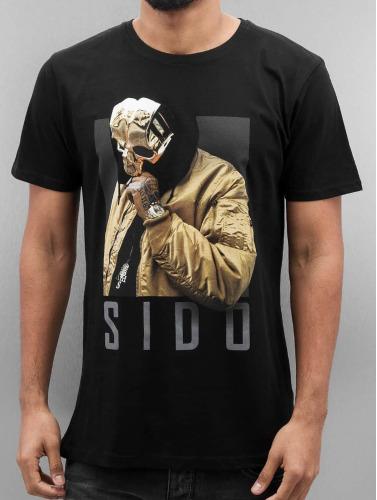 Merchcode Hombres Camiseta Sido Geuner in negro