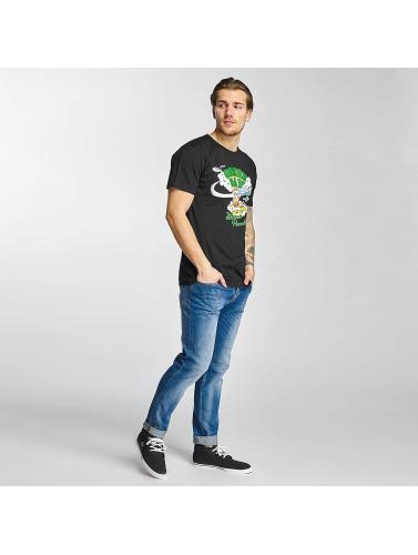 Merchcode Hombres Camiseta Green Day Paradise in negro