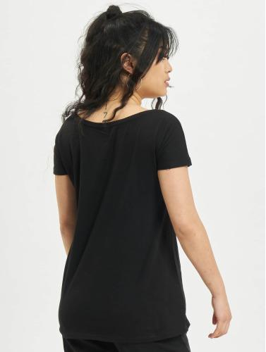 Merchcode Mujeres Camiseta Batman Logo in negro