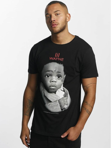 Merchcode Hombres Camiseta Lil Wayne Child in negro