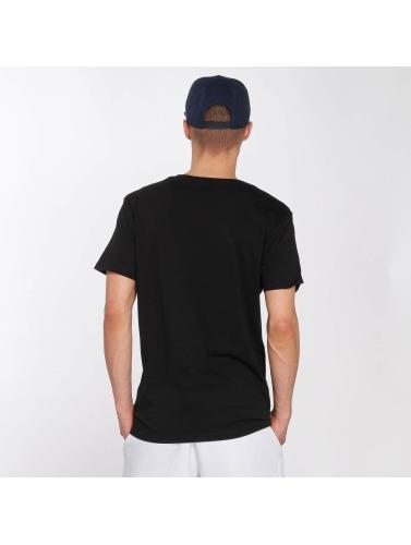 Merchcode Hombres Camiseta Hustler Tongue in negro