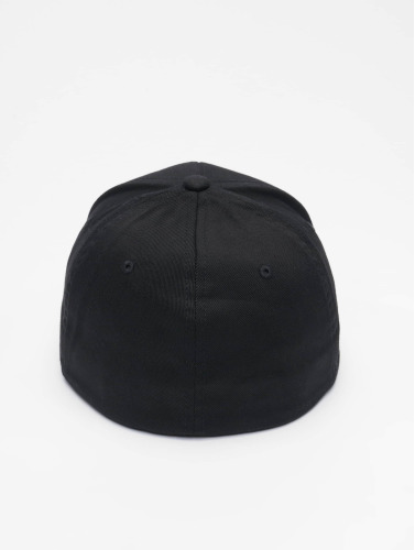Merchcode Flexfitted Cap Supermann in schwarz