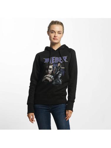Merchcode Damen Hoody Justin Bieber 90s in schwarz
