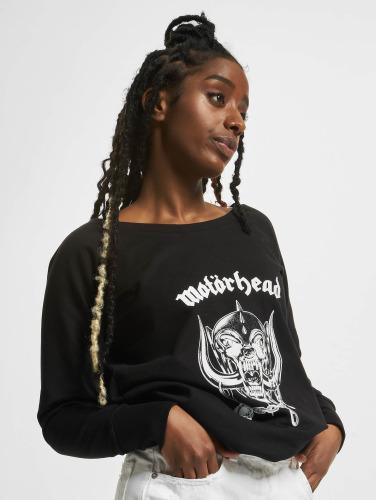 Merchcode Damen Pullover Ladies Motörhead Everything Louder Wideneck in schwarz In Deutschland Verkauf Online ox4EA