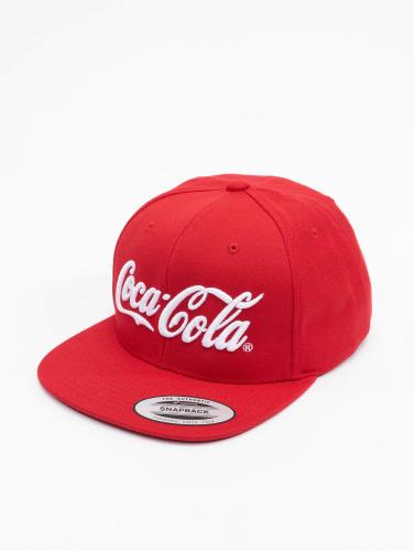 Merchcode Snapback Cap Coca Cola Logo in rot