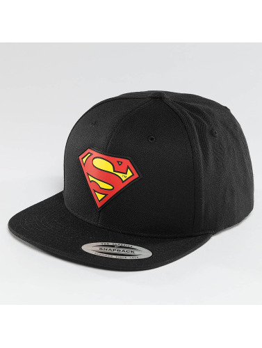 Merchcode Snapback Cap Superman in schwarz