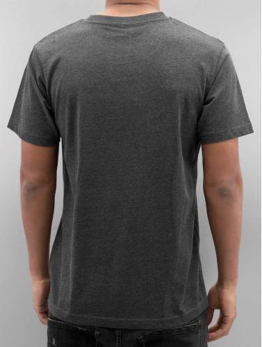 Merchcode Herren T-Shirt Johnny Cash Man In Black in grau