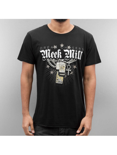 Merchcode Herren T-Shirt Meek Mill Mill Chains in schwarz