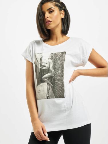 Merchcode Damen T-Shirt MC028 in weiß Verkauf Vorbestellung Spielraum Rabatte Billig Verkauf Kauf Spielraum Niedrig Kosten Wählen Sie Einen Besten Online-Verkauf tfwl72Iib