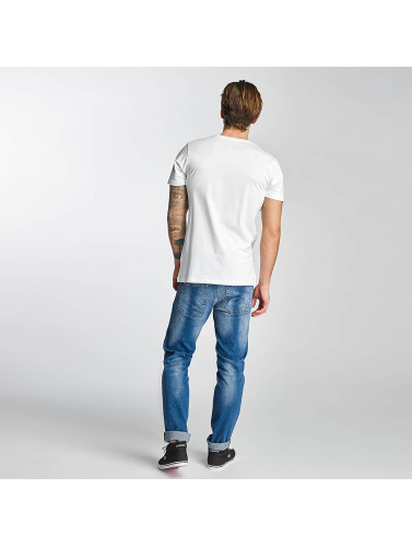 Merchcode Herren T-Shirt Swedish House Mafia Logo in weiß