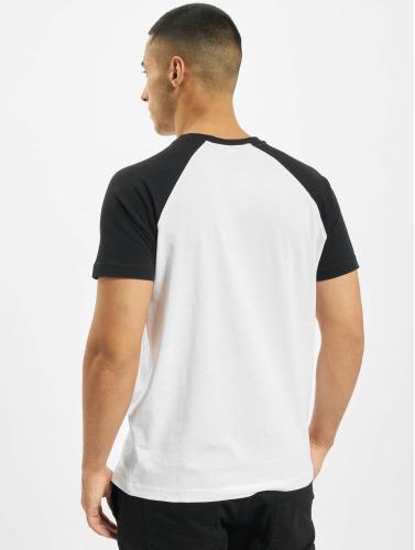 Merchcode Herren T-Shirt Banksy Panda Raglan in weiß