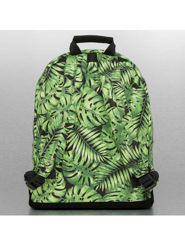 Mi-Pac Rucksack Tropical Leaf in schwarz