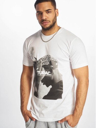 Mister Tee Hombres Camiseta 2Pac F*ck The World in blanco