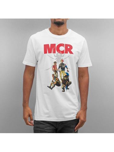Mister Tee Hombres Camiseta MY Chemical Romance Killjoys Pinup in blanco